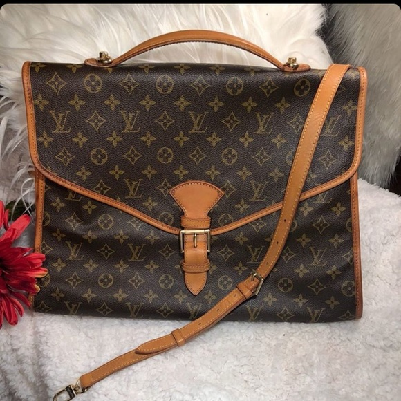 LV Beverly Briefcase. Good vintage condition